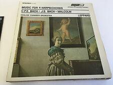 BACH  Music For 4 Harpsichords London Records – STS 15075 VINYL LP MINT/EX