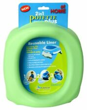 Reusable Liner to Fit Potette Plus Travel Potty - Easy To Remove & Clean Green