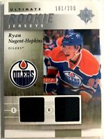 2011-12 Ryan Nugent-Hopkins Ultimate Collection Rookie Jerseys #URJ-RN Oilers