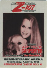 MARY CHAPIN CARPENTER 1995 Radio Promo Backstage Pass Z-107 Mavericks
