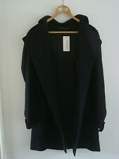 OPENING CEREMONY x FREMONT Hooded Wool Overcoat - M/L - RRP $705 - Superb - BNWT