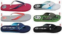 Mens Urban Beach Flip Flops Footwear Holiday Summer Sandals Slip On Size 6-11