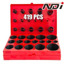 419 PCS Rubber O Ring Assortment Kit Metric Grommet Rubber Ring Set ND-0902