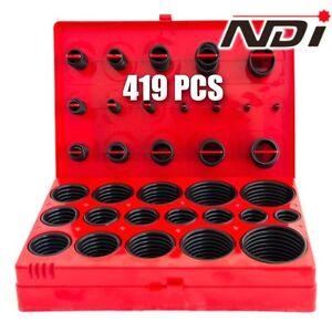 419 PCS Rubber O Ring Assortment Kit Imperial Grommet Rubber Ring Set ND-0905