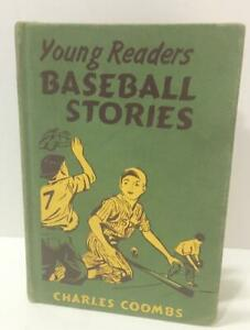 1950 Hardcover Book Young Readers Baseball Stories by Charles Combs