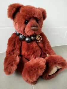 Rusty Charlie Bear Isabelle Lee rustic  large bear