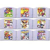 Super Mario Kart 64 Bit Video Game Cartridge Nintendo Console English 100% New