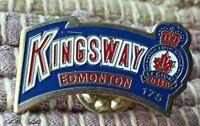 Royal Canadian Kingsway Legion Branch 175 Edmonton Canada lapel pin pre-owned
