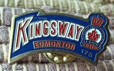 Kingsway Legion Branch 175 Edmonton Canada lapel pin pre-owned