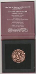VATICANO 2021 Arte e Fede 20 Euro in rame, confezione Zecca