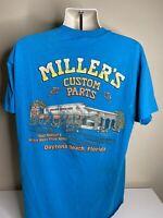 Vintage 1997 Daytona Beach Bike Week T Shirt Men's Size XL Blue