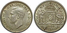 AUSTRALIA FLORIN 1944 S KM#40