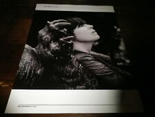 CAT POWER - Mini poster Noir & blanc recto verso !! VOXPOP !!!