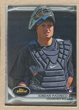 Jordan Pacheco 22 2012 Topps Finest Rookie RC