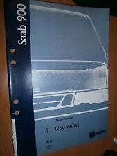 Saab 900 : manuel atelier partie 0 nouveautés 1998