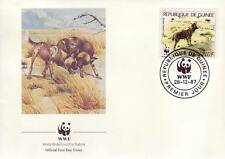 632+ FDC ENVELOPPE 1er JOUR ANIMAUX SAUVAGES GUINEE
