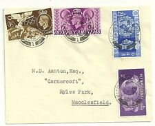 Plaine de 1948 jeux olympiques FDCs-Macclesfield local à n d Ashton