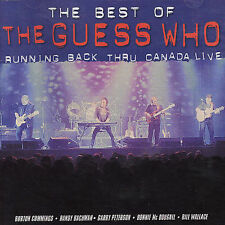 FREE US SHIP. on ANY 3+ CDs! NEW CD Guess Who: Best of: Running Back Thru Canada