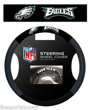 Philadelphia Eagles Poly/Mesh Steering Wheel Cover