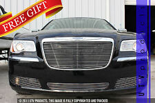 GTG 2011 - 2014 Chrysler 300 and 300C 4PC Polished Insert Billet Grille Kit