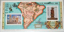 ARGENTINA ARGENTINIEN 1988 Block 37 B136 ARBRAPEX Church Kirche Wood Sculpture**
