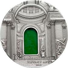 Palau 2012 10$ Tiffany Art Neoclassicism 2oz Silver coin Antique finish ONLY 999