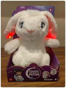 "NEW!! Netflix's Over the Moon LIGHT-UP Bungee Bunny Plush Doll 12"" (SHIP NOW)"