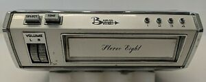 Vintage BOMAN STEREO EIGHT 8 Track Stereo Car Tape Player