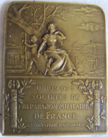 MED9482 - MEDAILLE UNION DES SCOIETES DE PREPARATION MILITAIRE DE FRANCE