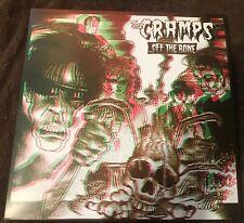 The Cramps- Off The Bone Vinyl LP ILP-012 NM/NM 3D Cover (Gun Club, Punk, Lux)
