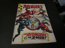 AVENGERS #53 AWESOME EARLY X-MEN CROSS OVER!!!