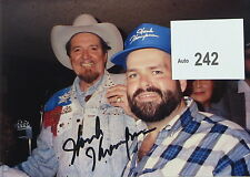 Hank Thompson Country Music Star Original Autographed Candid Color Photograph