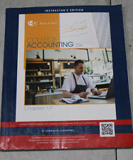 Heintz & Parry College Accounting 22e Chapters 1-9 Instructor's Edition