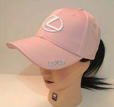 NIB Lexus With Logo Pink Hat Cap Adjustable