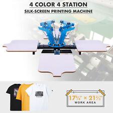Preenex Silk Screen Printing Machine 4 21x17 Stations For 4 Color Printmaking