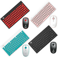 2.4G Mini Wireless Keyboard & Cordless Optical Mouse Combo Set for PC Latptop