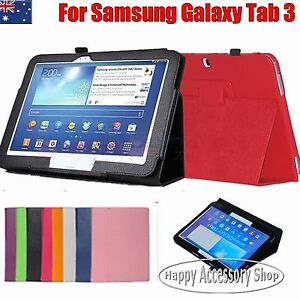 Premium Leather Case Cover for Samsung Galaxy Tab 3 10.1 P5200 P5210 P5220