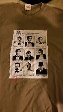 Chunk Homme Year Book James Bond 007 T-shirt marron agents méchants (Medium)