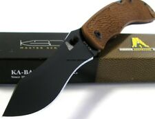KA-BAR KABAR Johnson Adventure Piggyback Folder AUS-8A Knife DISCONTINUED 5597