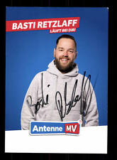 Basti Retzlaff Autogrammkarte Original Signiert # BC 110144