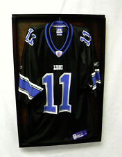 Jersey Display Case, Shadow Box, Jerey Case for all Jerseys Blk Shdw