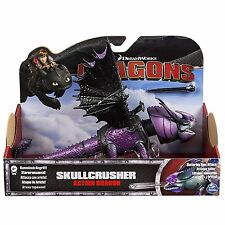 Dreamworks dragons défenseurs how to train your dragon skullcrusher figure