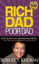 RICH DAD POOR DAD What the Rich Teach Kids about Money Robert Kiyosaki book NEW