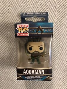 Pocket Pop Aquaman Arthur Curry Vinyl Key Chain