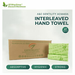 A&C Gentility Compact Interleaved Paper Hand Towel FREE POSTAGE