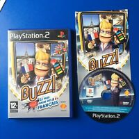 BUZZ ! Le Plus Malin des Français The smartest French  game PS2 PLAYSTATION 2