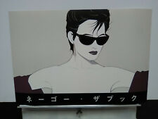 "SUPER RARE - 1983 Patrick Nagel Sunglasses - JAPANESE EXPO for ""THE BOOK""  16x24"
