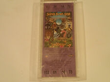 1998 Super Bowl XXXII (32) Authentic Replica Ticket! Slabbed Mint NFL