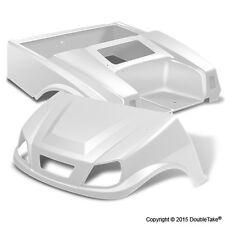 Club Car DS Spartan Golf Cart White Body Set & Light Kit Color Through Body