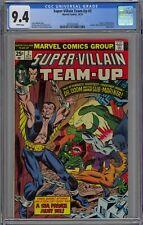 Super-Villain Team-Up #2 CGC 9.4 NM Wp Marvel Comics 1975 Dr. Doom Sub-Mariner